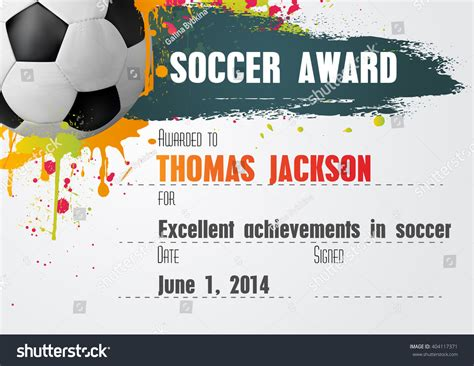 soccer certificate templates for word soccer certificate template free condo financials