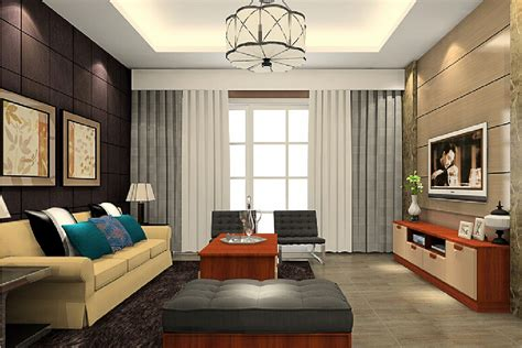Living Room Or Sitting Room by Sitting Room Interior 3d View 3d House