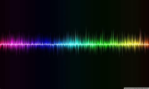 sound wave ultra hd desktop background wallpaper