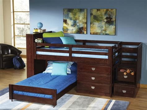 Storage Low Loft Bunk Beds For Kids Nice Low Loft Bunk Beds For