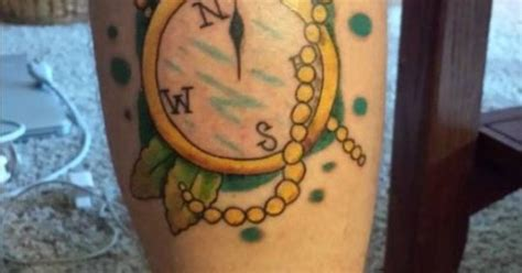 iron clad tattoos compass on me by peterson of iron clad