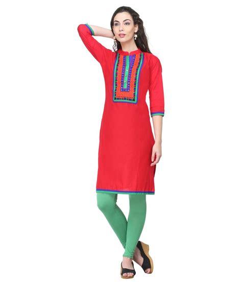 Dasi Motif Kotak Kotak Maroon anora cotton kurti price in india buy anora