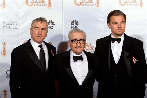 Brad Pitt Robert De Niro Martin Scorsese Directs Brad Pitt Leonardo Dicaprio And