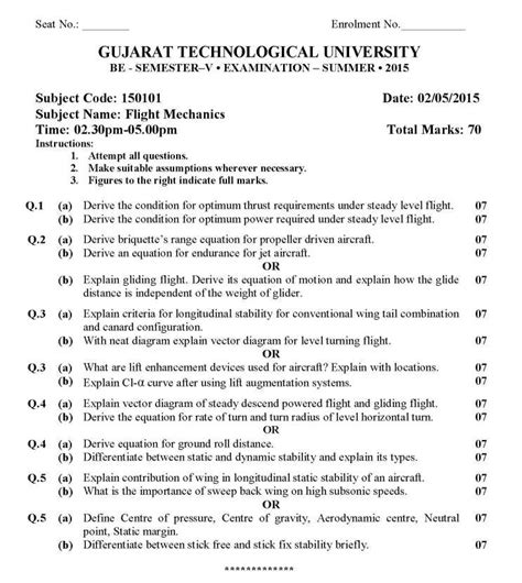 Gtu Mba Papers by Gtu Question Papers 2018 2019 Student Forum