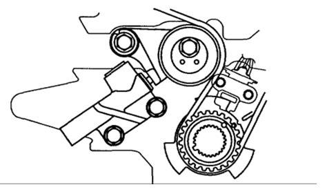 2002 Kia Timing Belt 2002 Kia Carnival Timing Belt Diagram Engine Mechanical