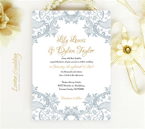 Gray And Yellow Floral Wedding Invitation By Ccoinc Wedding Invitations Yellow And Grey Cogimbo Us