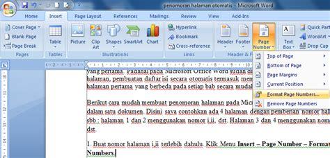 cara membuat penomoran halaman pada word 2007 download undangan gratis desain undangan pernikahan