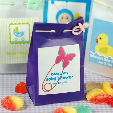 personalized candies for baby shower personalized baby shower bags