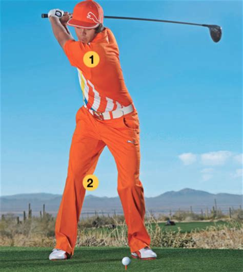 front foot golf swing golf solution 5 load your back leg the right way
