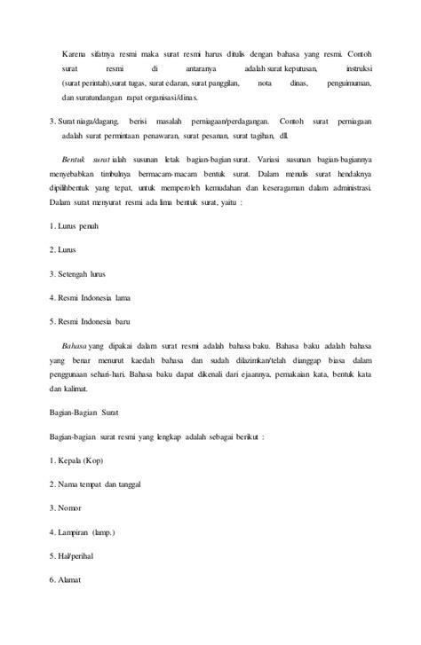contoh surat perintah kerja berupa surat edaran 28 images memahami