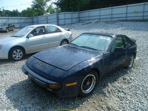porsche 944 blue porsche 944 review and photos