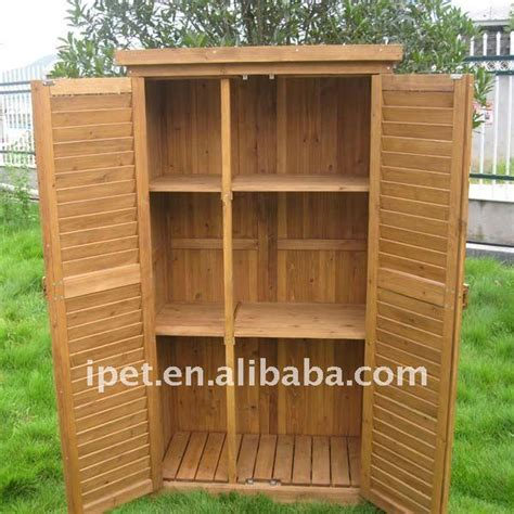 outdoor wood storage cabinet premium large cheap outdoor wooden garden storage cabinet