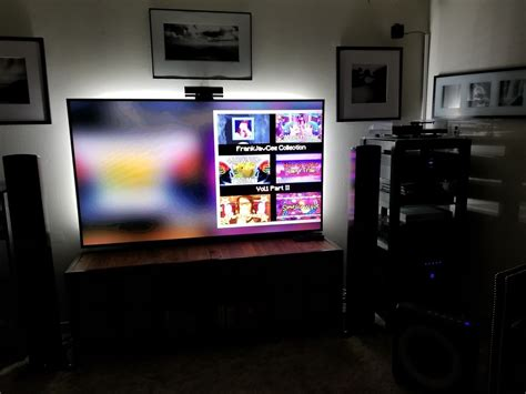 mutelights home theater gallery living room