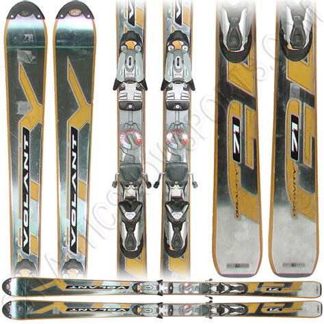 volant skis used volant gravity 71 skis with marker bindings