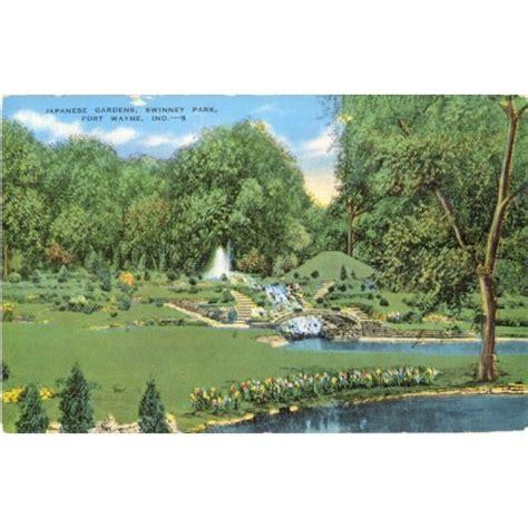 fort wayne park japanese gardens swinney park fort wayne ind