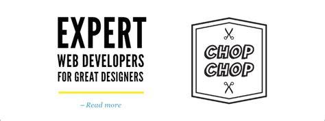 design chops meaning services and tools that will slice and code your designs