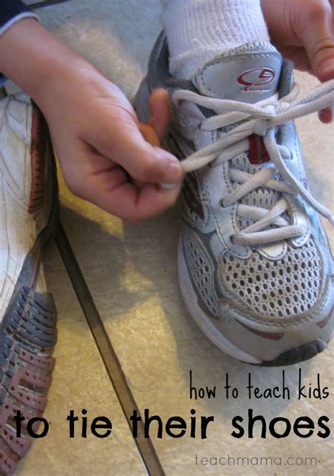 how to teach to tie shoes how to teach to tie their shoes teach