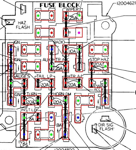chevy 1500 fuse box chevy clutch line wiring diagram