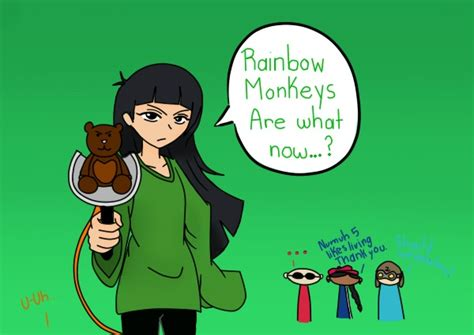 Professional Couple rainbow monkeys are what now by lilithshiro on deviantart