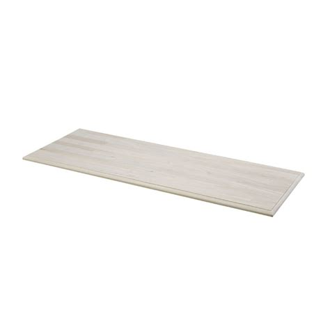 Table Tops Lowes by Shop Unfinished Pine Rectangular Wood Table Top At Lowes