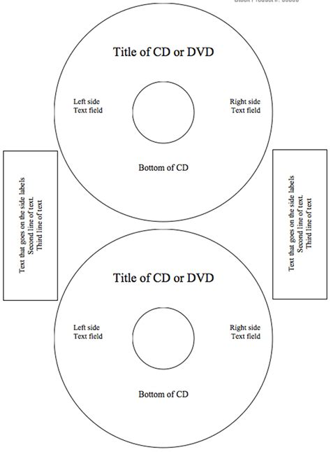 download cd label template 2 for free tidyform