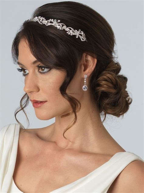 Bridal Hairstyles With Headband by Best 25 Bridal Headbands Ideas On Wedding