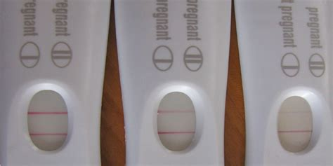 what is a evaporation line on a pregnancy test