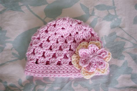 free crochet pattern newborn flower hat tutorial treasures free crochet beanie pattern