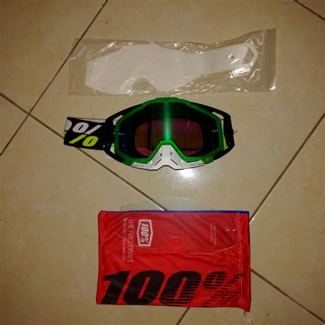 Jual Saklar Racing jual goggle race craft simbad mirror green lens