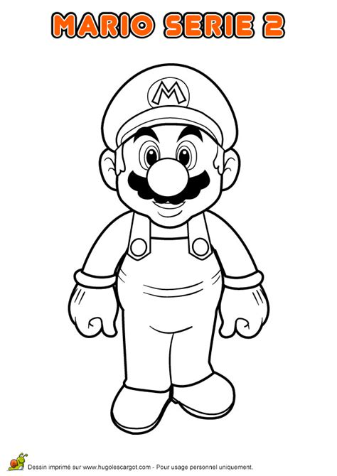Coloriage Super Mario Hugolescargot Com