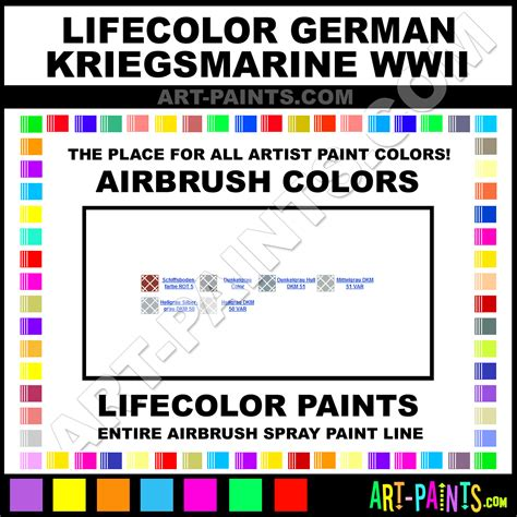 dunkelgrau german kriegsmarine wwii airbrush spray paints