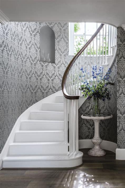 grey wallpaper hallway 151 best grey wallpapers images on pinterest gray