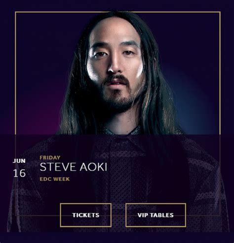 steve aoki vegas tickets hakkasan nightclub presents steve aoki las vegas city