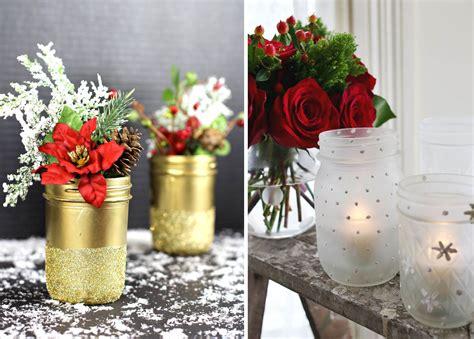 vasi natalizi trasformare i barattoli in decorazioni natalizie