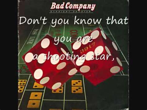 bad company shooting bad company shooting lyrics on screen