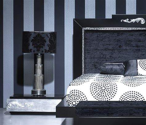 black and silver bedroom set luxus carved black and silver leaf bedroom set collection