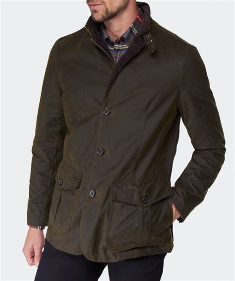 Be A Jacket s barbour lutz waxed jacket available at jules b