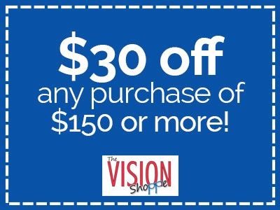 special offers   the vision shoppe