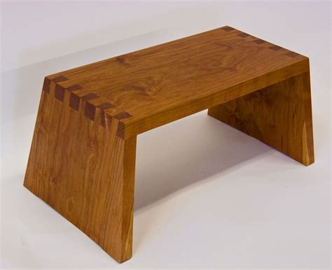 Black Step Stool Wood by Made Cherry Step Stool By David Munkittrick