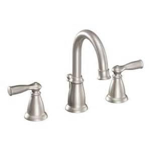 home depot moen bathroom faucets moen banbury 8 in widespread 2 handle high arc bathroom