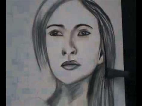 cara menggambar cara menggambar wajah dengan pensil mp4 flv