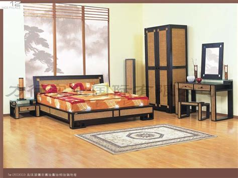 China Rattan Furniture Bedroom Set My Tw 0503003 China Wicker Bedroom Furniture Sets
