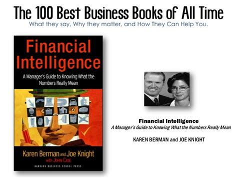 the 100 greatest novels the 100 best business books of all time