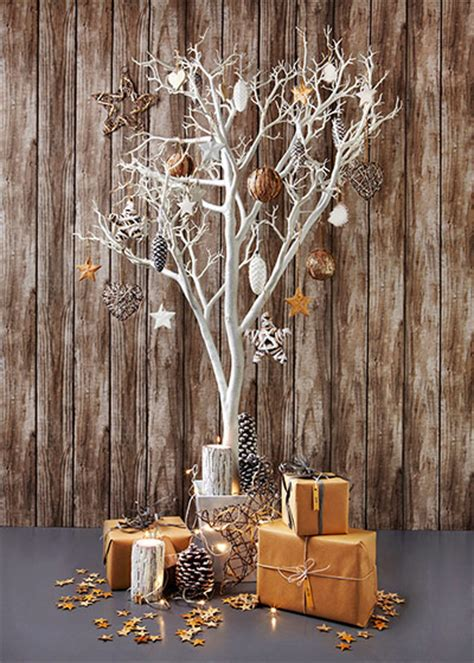 how to decorate a twig or branch tree at xmas cheer all present and correct in pictures and style the guardian