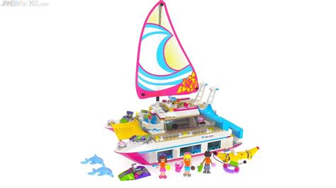 catamaran lego lego friends sunshine catamaran review 41317 youtube