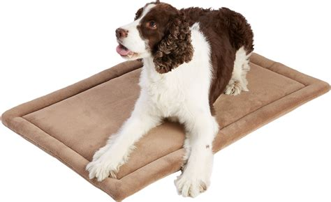 Mat Terry by Frisco Micro Terry Pet Bed Crate Mat Taupe 36 Inch