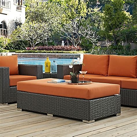 modway sojourn outdoor furniture collection in sunbrella