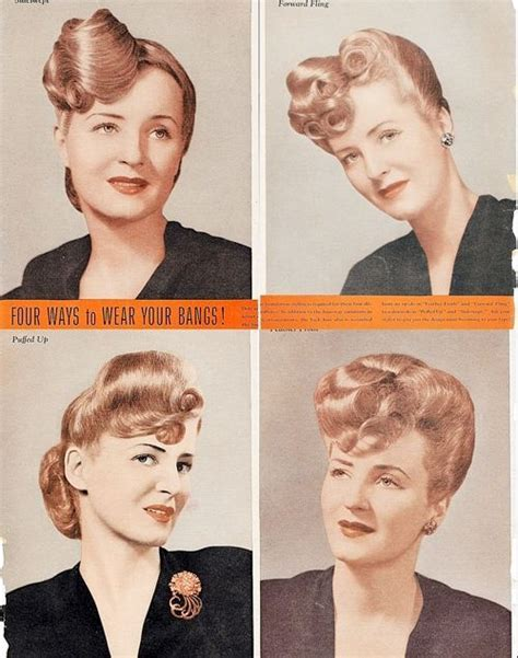 how to wear bangs in your forties 793 best images about rockabilly pin up hair and makeup
