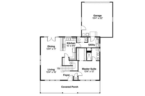 Craftsman Home Floor Plans by Craftsman House Plans Westborough 30 248 Associated
