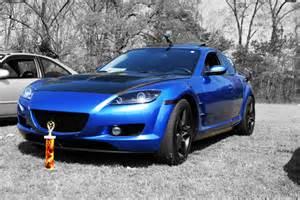 mazda rx8 modified blue